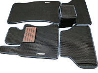 Автоковрики iKovrik Премиум 5 шт в комплекте до восьми креплений, подпятник резина-пластик, 2 шил, КОД: