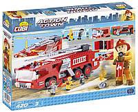 Конструктор Cobi Пожарная машина в аэропорту 420 деталей COBI-1467, КОД: 2435890