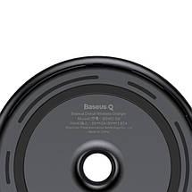 Беспроводное зарядное устройство Baseus Donut Wireless Charger Black 10W (WXTTQ-01), фото 2