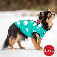 Жилет для собаки утепленный DIEGO sport  2/3 сердце, размер 2