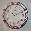 """Часы настенные """"Rikon RK38"""" silver rose gold white (40 см.)"""