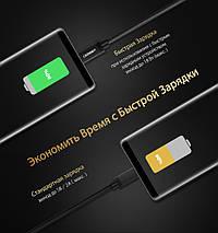 Кабель Micro USB Ugreen US134 для зарядки и передачи данных (Черный, 2м), фото 2