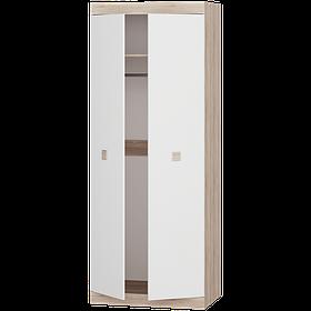 Шкаф для вещей 800 Соната Эверест Сонома с белым psgUK-6415014, КОД: 1475781