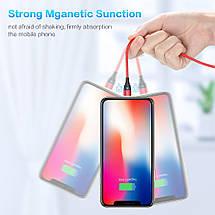 Магнитный кабель Lightning Floveme для зарядки iPhone/iPad/iPod (Черный, 1м), фото 2