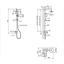 Душова система Qtap SIL 1104, фото 2