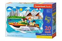 Пазл Castorland Макси Поездка на катере в Сиднее 20 элементов С-02375 tsi38306, КОД: 287884