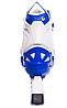 Ролики раздвижные Zelart (34-37р) Z096М синие, фото 5