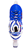 Ролики раздвижные Zelart (34-37р) Z096М синие, фото 6