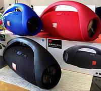 Колонка JBL Boombox big, БОЛЬШАЯ портативная Bluetooth колонка 40w красная синяя черная