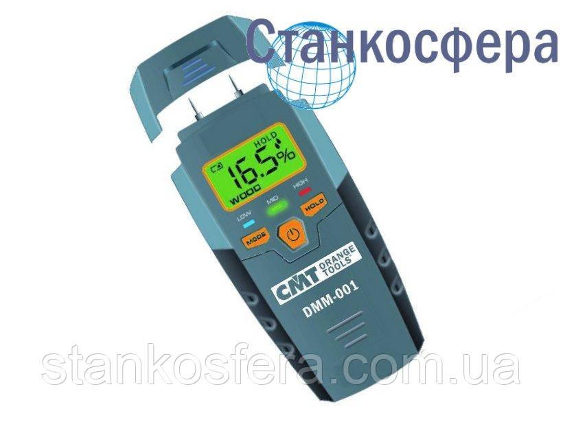 Цифровий вологомір CMT DMM001 для деревини та будівельних матеріалів контактний голчастий