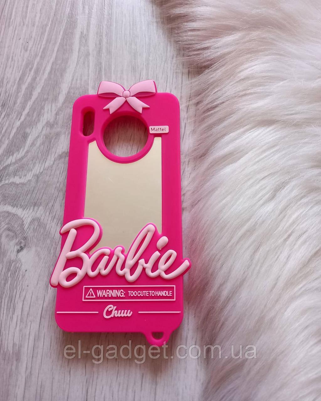 Чехол 3D на Huawei Mate 30 Барби Barbie розовый