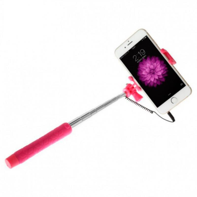 Селфи палка проводной AUX монопод Baseus View series для смартфонов