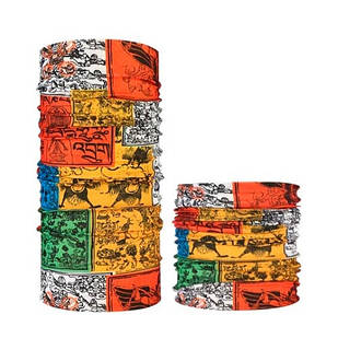 Бафф бандана-трансформер, шарф из микрофибры, 13 Индия