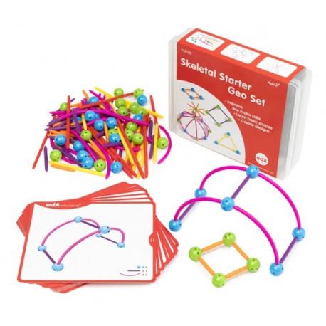 "Развивающий конструктор ""2D и 3D геометрия""  с карточками EDX Education"