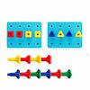 """Развивающий набор """"Цветные колышки"""" EDX Education, фото 4"""