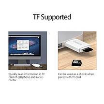 Кардридер USB 3.0 Micro SD Orico CRS11-WH c поддержкой OTG и карт до 128 Гб (Белый), фото 2