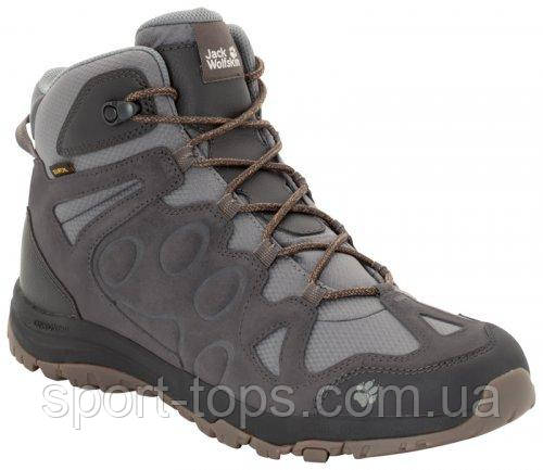 Ботинки Jack Wolfskin ROCKSAND TEXAPORE MID M 4022311-6350 мужские зимние коричневые