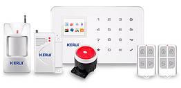 Комплект сигнализации GSM KERUI G-18 modern plus PD Белый HHFBVCDS519DUGTC, КОД: 1033299