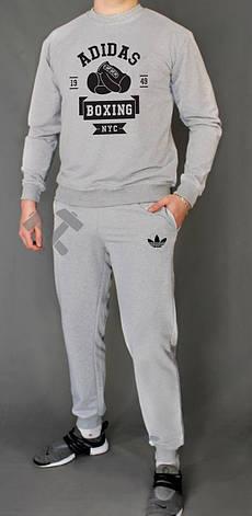 Чоловічий спортивний костюм Adidas, Адідас, сірий (стилі), фото 2
