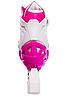 Ролики розсувні Zelart (38-41р) Z-096 рожеві, фото 4