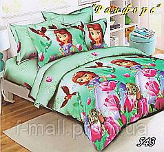 Комплект детского постельного белья Тет-А-Тет (Украина) ранфорс полуторное (543)
