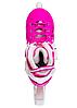 Ролики розсувні Zelart (38-41р) Z-096 рожеві, фото 6