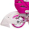 Ролики розсувні Zelart (38-41р) Z-096 рожеві, фото 7