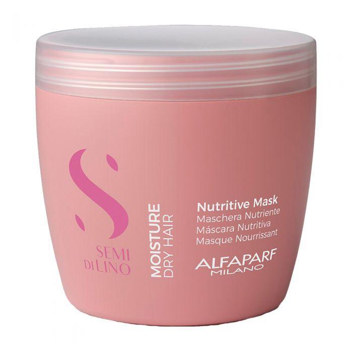Маска Alfaparf Moisture Semi di Lino для сухих волос 500 мл. Nutritive mask