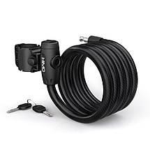 Замок для велосипеда Xiaomi HIMO L150 Portable Folding Cable Lock (Черный), фото 2