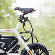 Замок для велосипеда Xiaomi HIMO L150 Portable Folding Cable Lock (Черный), фото 3