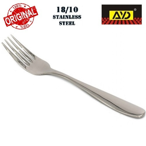 """Вилка столова """"Супер гладь"""" AYD (полірована нержавіюча сталь 18\10, 6 шт. в упаковці), арт. 301802"""