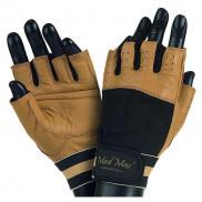 Перчатки для фитнеса и тяжелой атлетики Mad Max Fitness Workout Gloves MFG-444  Размер M, Коричневый