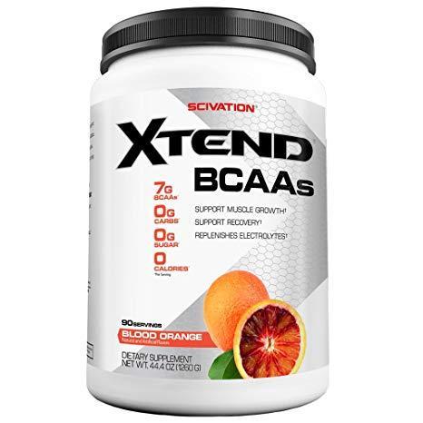 БЦАА Scivation  BCAA Xtend (420 г) икстенд скайвейшн blood orange