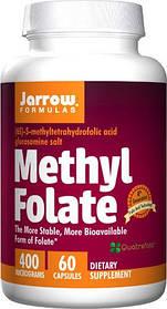 Вітаміни Jarrow Formulas Methyl Folate 400 mcg (60 капс)
