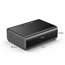 Автомобильный насос компрессор Baseus Smart Inflator Pump CRCQB01-01 (Черный), фото 3