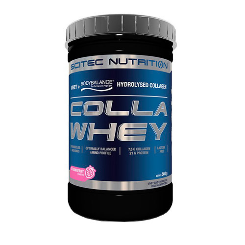 Сывороточный протеин концентрат Scitec Nutrition Colla Whey (560 г) скайтек вей vanilla