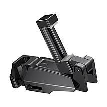 Автомобильный держатель для телефона на подголовник Baseus SUHZ-A01 (Черный), фото 2