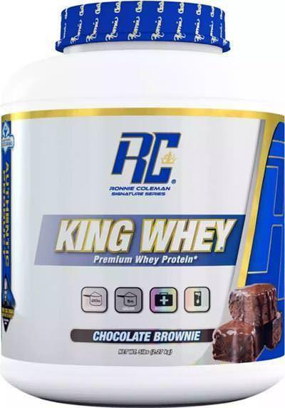 Сывороточный протеин концентрат Ronnie Coleman King Whey (2.27 кг) ронни колеман кинг вей cookies & cream