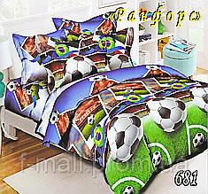 Комплект детского постельного белья Тет-А-Тет (Украина) ранфорс полуторное (681)