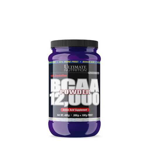 БЦАА Ultimate Nutrition BCAA 12,000 powder (400 г) ультимейт нутришн unflavored