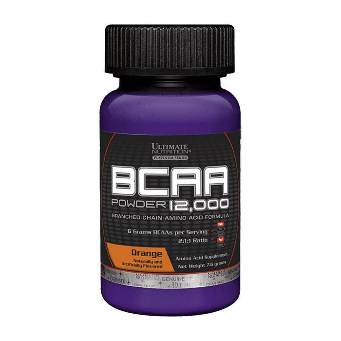 БЦАА Ultimate Nutrition BCAA 12,000(7,6 г) ультимейт нутришн orange