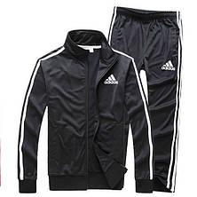 Мужской спортивный костюм Адидас, Adidas, черный (в стиле), фото 2