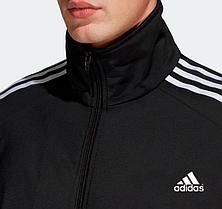 Мужской спортивный костюм Адидас, Adidas, черный (в стиле), фото 3