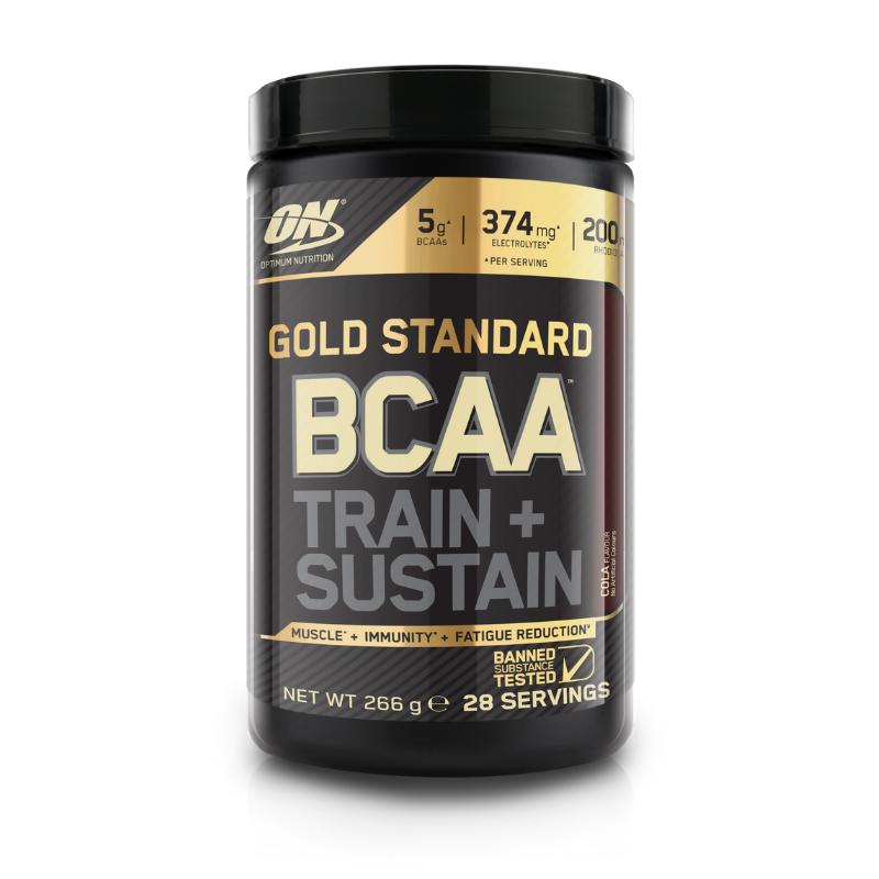 БЦАА Optimum Nutrition BCAA Gold Standard (280 г) оптимум нутришн  fruit punch