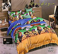 Комплект детского постельного белья Тет-А-Тет (Украина) ранфорс полуторное (853)