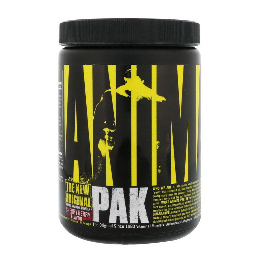 Комплекс вітамінів Universal Nutrition Animal Pak Powder (117 м) юніверсал енімал пак