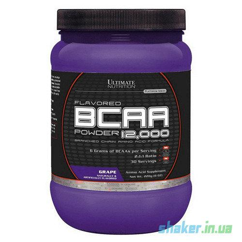 БЦАА Ultimate Nutrition BCAA 12,000 (228 г) ультимейт нутришн grape