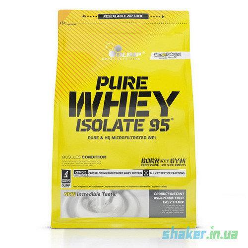 Сывороточный протеин изолят Olimp Pure Whey Isolate 95 (1,8 кг) олимп пур вей peanut butter