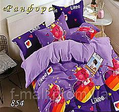 Комплект детского постельного белья Тет-А-Тет (Украина) ранфорс полуторное (854)