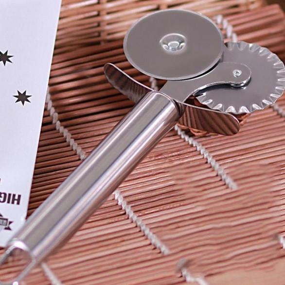 Нож для пиццы (3,5 см, два лезвия, нержавеющая сталь), арт. 11-2